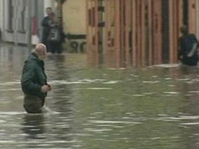 East Belfast - Severe flooding