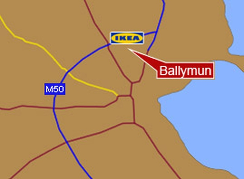 Ballymun - Go-ahead for IKEA store