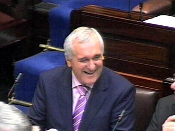 Bertie Ahern - Elected for third term