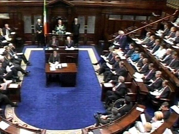 Dáil Éireann - TDs will return on 26 September
