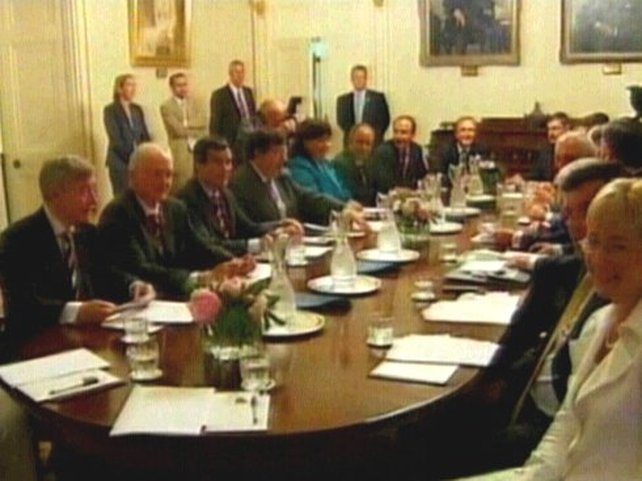 Cabinet - Ministers hold first meeting