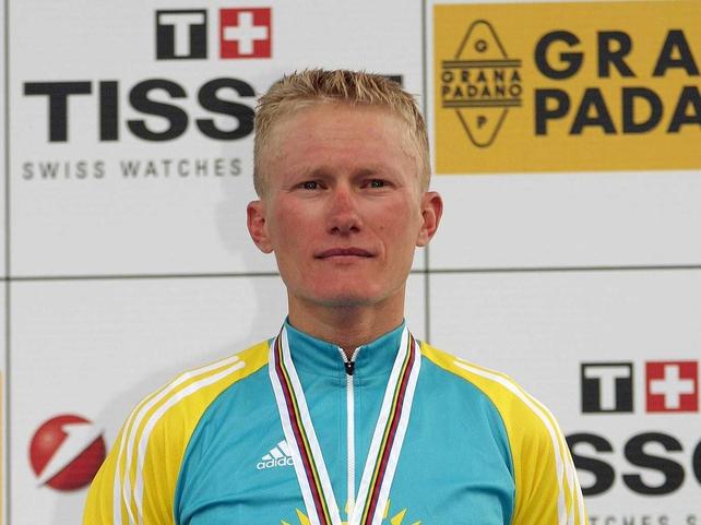 Alexander Vinokourov finished ahead Kim Kirchen & Haimar Zubeldia