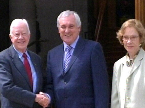 Jimmy Carter - Ireland the EU's 'pre-eminent voice for human rights'