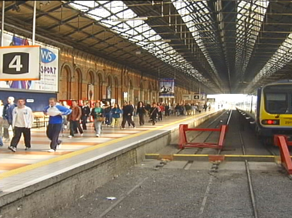 Iarnrod Éireann - Weekend services will be disrupted