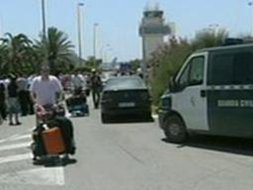 Ibiza airport - All flights cancelled
