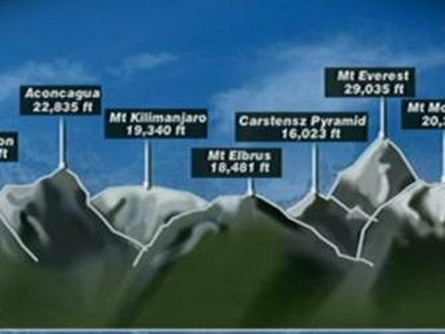 Career peak for Irish climber