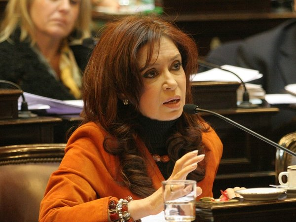 Cristina Kirchner - Senator is now the Peronist candidate for president