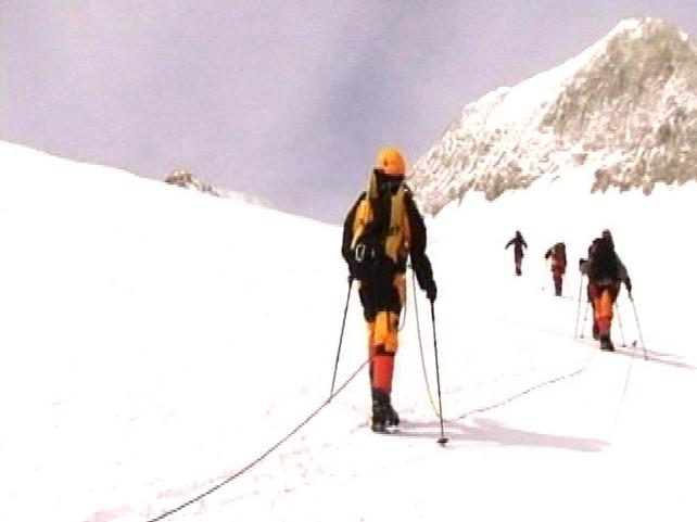 Seven summits challenge - Irishman beats world record