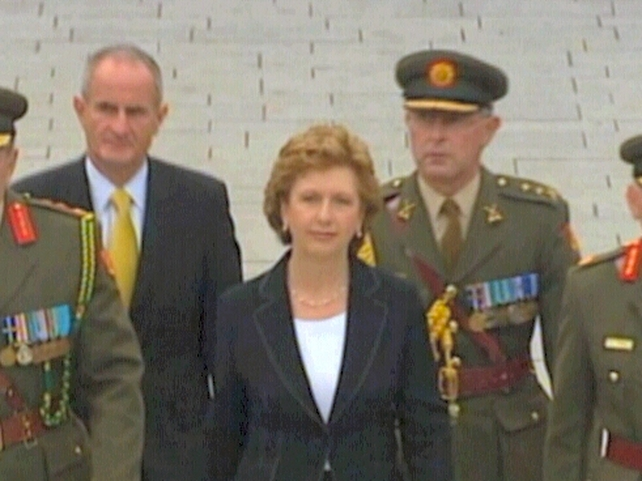 President McAleese - Attended with the Taoiseach