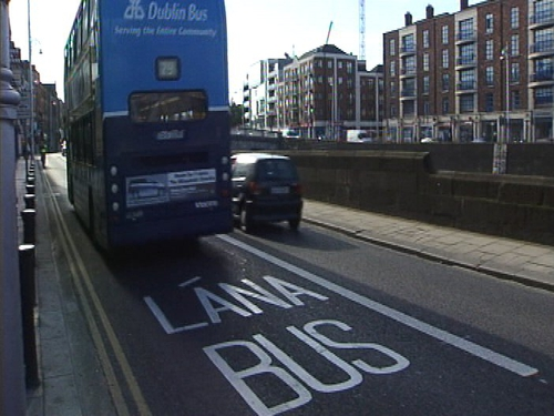 Dublin - Bus lane to cut journey times