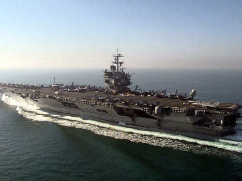 USS Enterprise - US Navy confirms it has moved into the Gulf