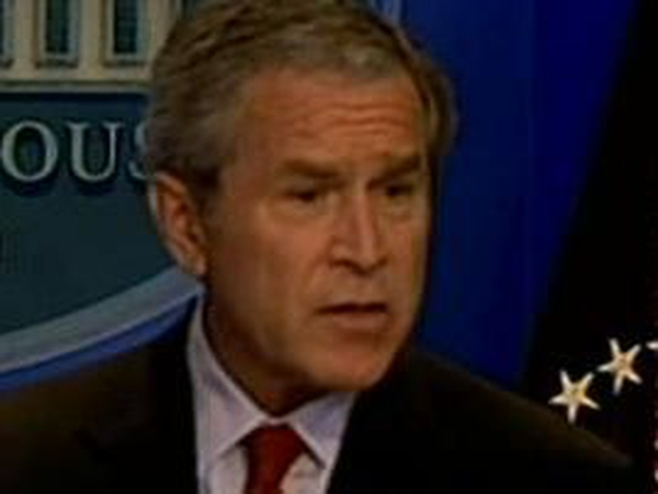 George W Bush - Compares Iraq to Vietnam