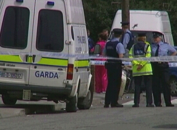 Finglas - Two men fired shots when a man answered the door