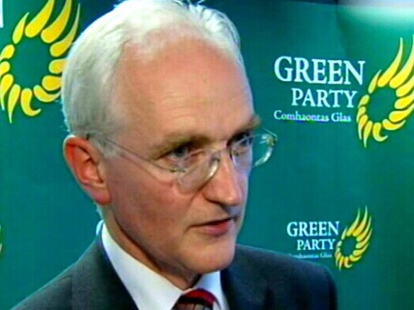 John Gormley - New Green Party leader