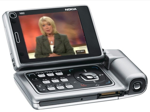 Nokia N92 - The phone used in O2's DVB-H trial