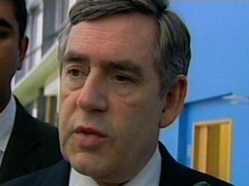 Gordon Brown - NI progress on agenda