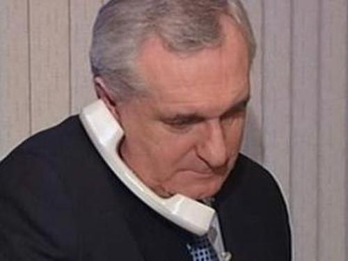 Bertie Ahern - Spokesperson defends contact