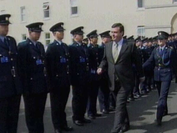 Brian Lenihan - Disappointed at number of non-Irish garda applicants