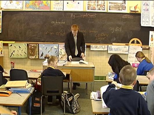 Caomhán Ó Conghaile, Príomhoide Meánscoil Inis Oirr.