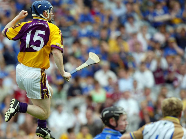 Rory Jacobs claimed Wexford's opener at Croke Park today