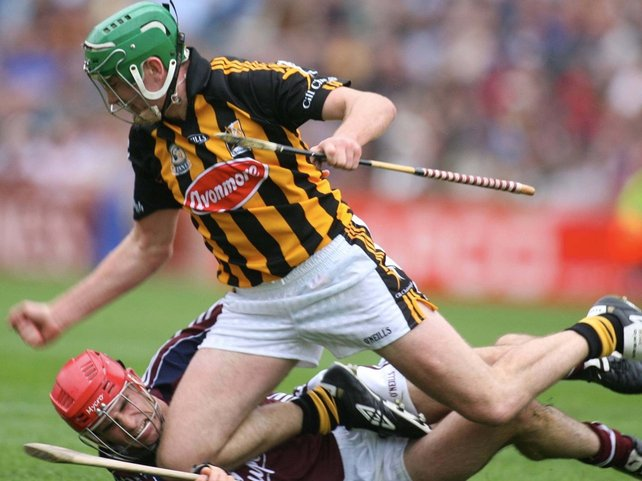 Kilkenny's Eddie Brennan found the net today