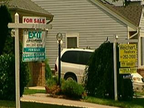 US house prices - Falls appear to be stabilising
