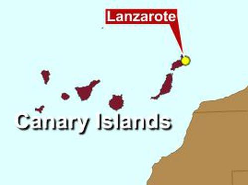 Lanzarote - Woman from Limerick shot