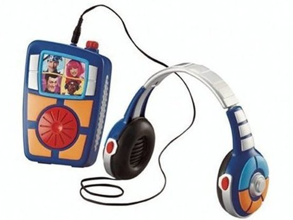 Lazy Town Music Transporter - One of the Mattel toys - that may contain lead paint