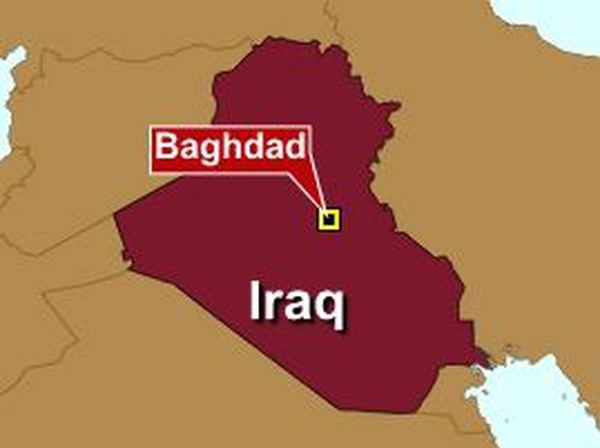 Baghdad - Explosion outside police academy