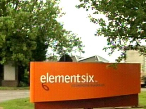 Element Six - Workers told of job losses this morning