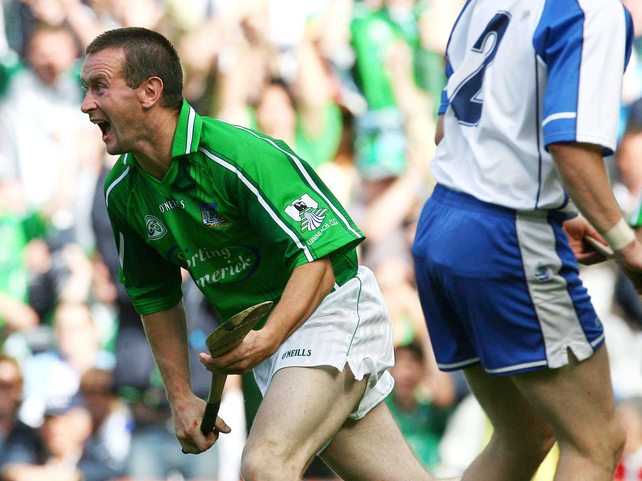 Donie Ryan scored two goals in Limerick's sensational win over Waterford
