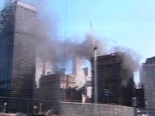 New York - Deutsche Bank building was being 'deconstructed'