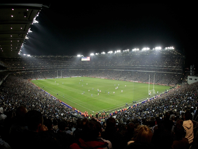 View from the Hill as Dublin and Tyrone meet in the first floodlit match at HQ.