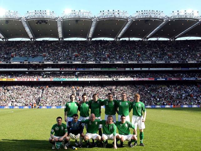 Republic of Ireland v Wales, 24 March 2007.