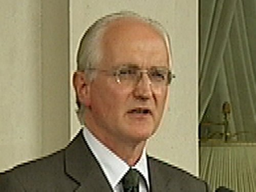 John Gormley - Environmental policy discussed