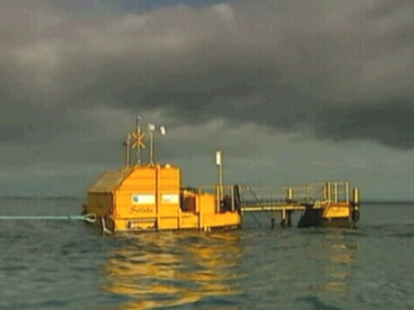 Buoy - Will now be fitted with a turbine