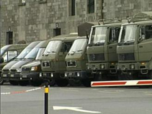Defence Forces - In Kosovo for the past eight years