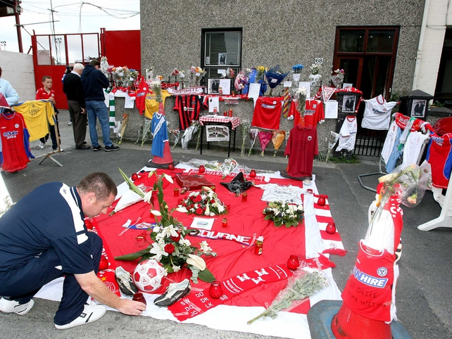 It was an emotional night for Shelbourne as they paid tribute to the late Ollie Byrne
