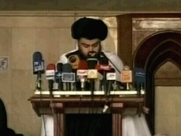 Moqtada al-Sadr - Call for end to bloodshed
