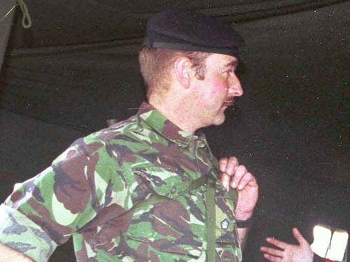 Tim Cross - Iraq criticism