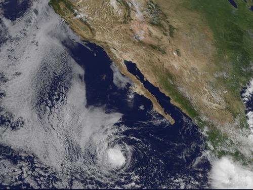 Hurricane Henriette - Mexican Pacific coast threatened