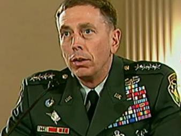 David Petraeus - Report on troop surge plan