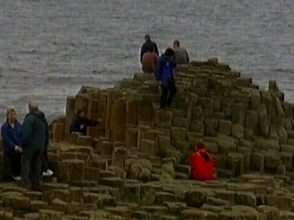 Giant's Causeway - Attracts more than 500,000 visitors a year