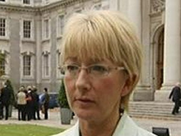Mary Hanafin - Voluntary approach not working