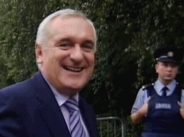 Bertie Ahern - Tribunal started to look at his finances two years ago