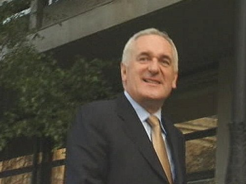 Bertie Ahern - Confirmed payments to the commission