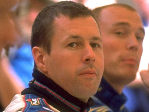 Colin McRae - One of four people on board the helicopter which crashed