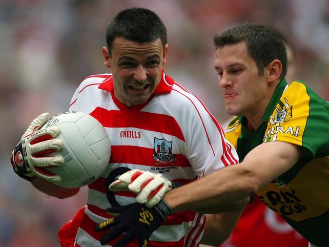 Cork goalkeeper Alan Quirke was beaten three times in today's All-Ireland final
