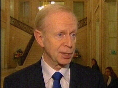 Reg Empey - Warning over Fianna Fáil's Northern Ireland plans