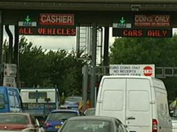 Westlink - Dismantling toll plaza to take two months